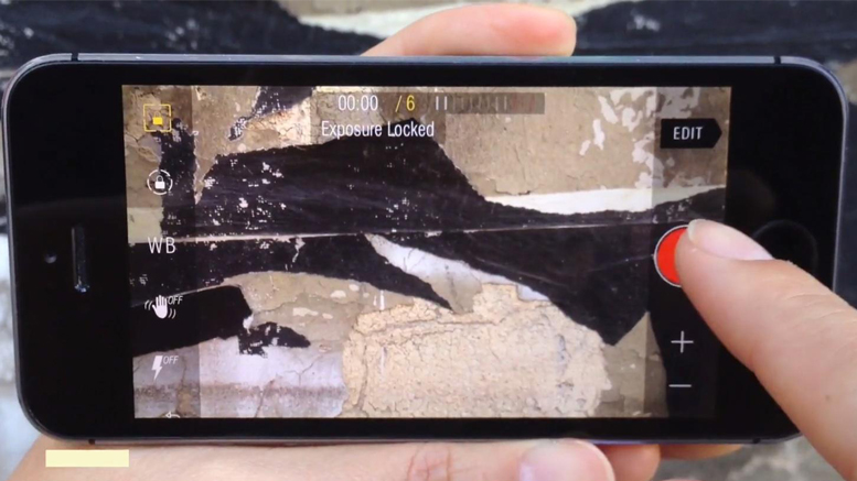 Kinomatic Camera App 01