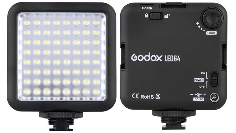 Godox LED64 Video Light 01