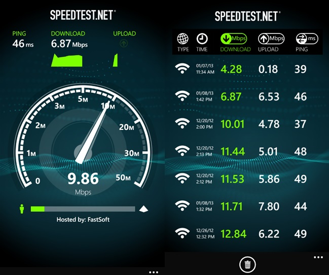 Speedtest-Windows-Phone-app
