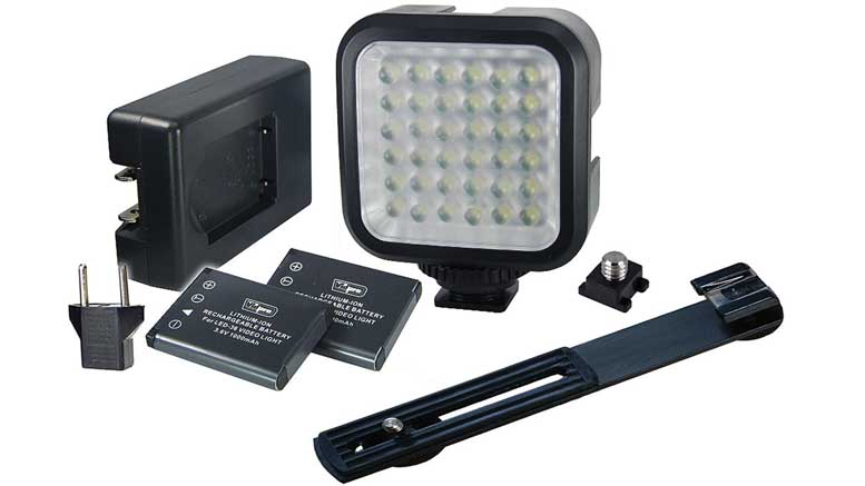 Genaray LED-2100 36 LED Compact On-Camera Light 01