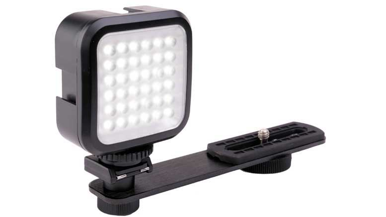 Genaray LED-2100 36 LED Compact On-Camera Light 02