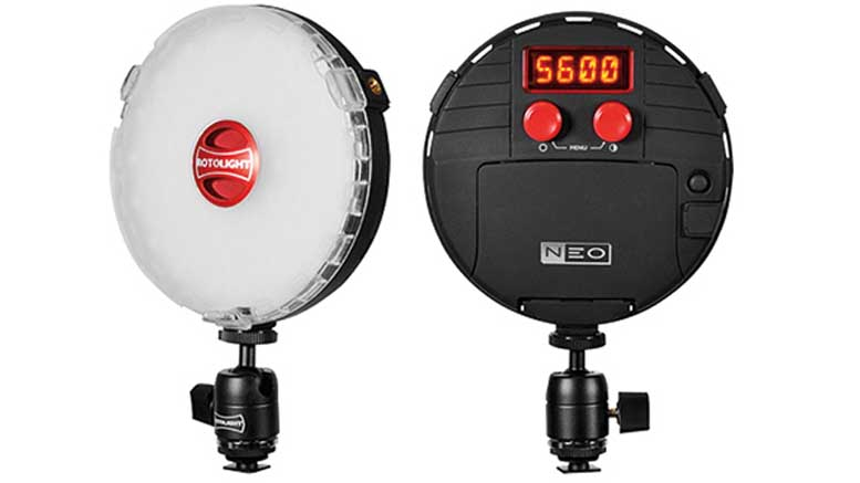 Rotolight NEO On-Camera LED Light 01