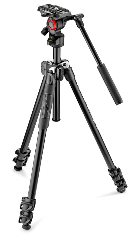Manfrotto 290 Light Tripod with Befree Live Fluid Head