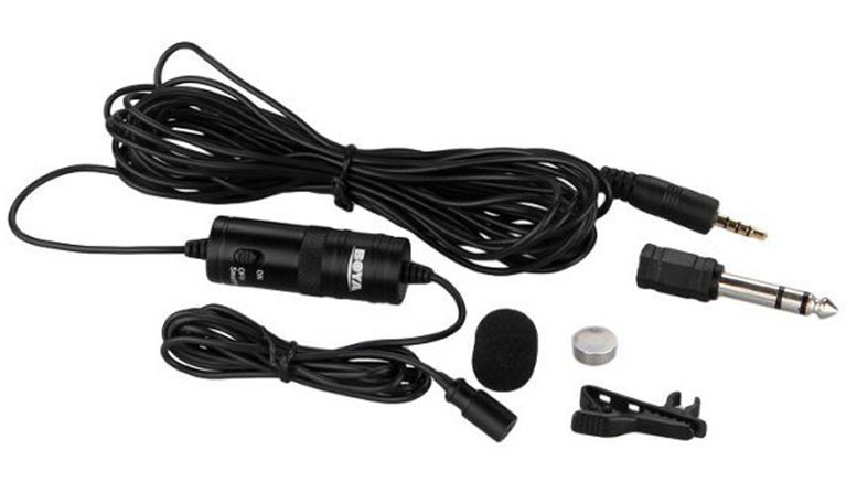 Boya-BY-M1-3.5-mm-Lavalier-Microphone-