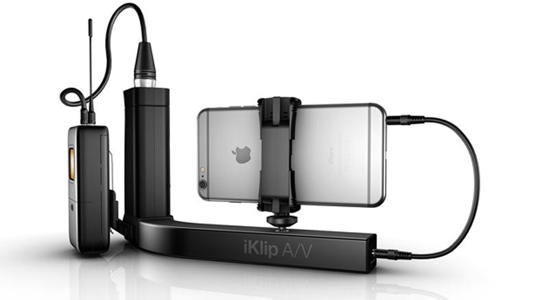iKlip AV handgrip for Smartphone